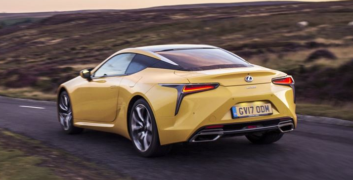2019 Lexus LC Coupe release date
