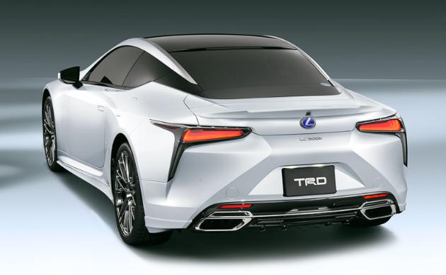 2019 Lexus LC TRD news