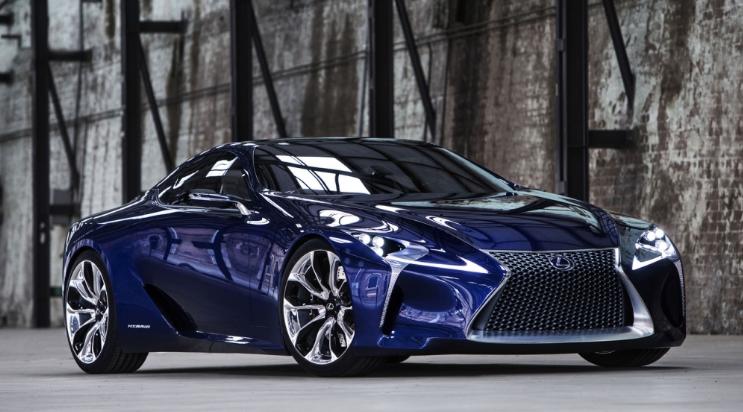 2019 Lexus LC500H Hybrid release date