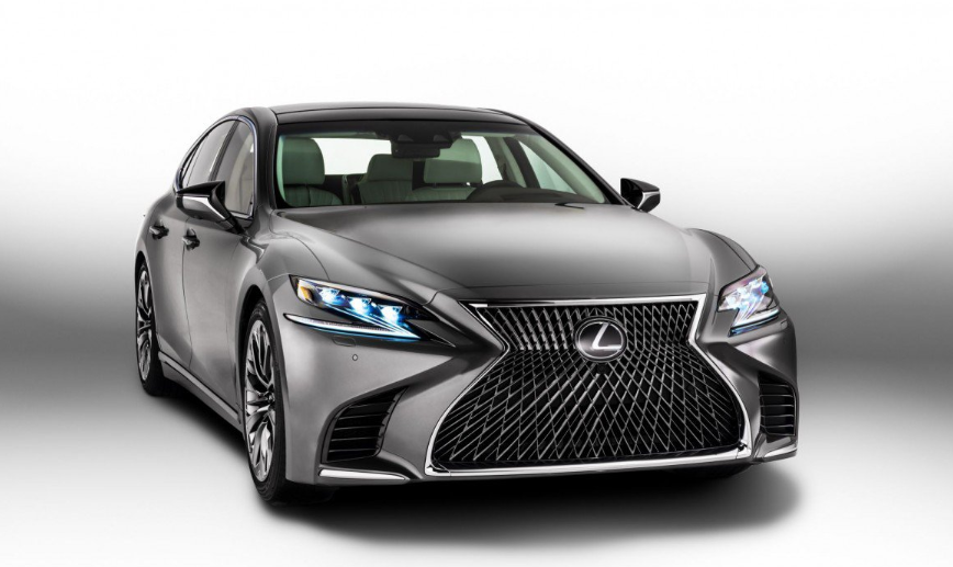 2019 Lexus LS 10-Speed news