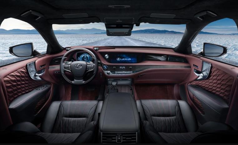2019 Lexus LS 10-Speed redesign