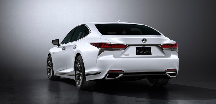 2019 Lexus LS F Sport 0-60