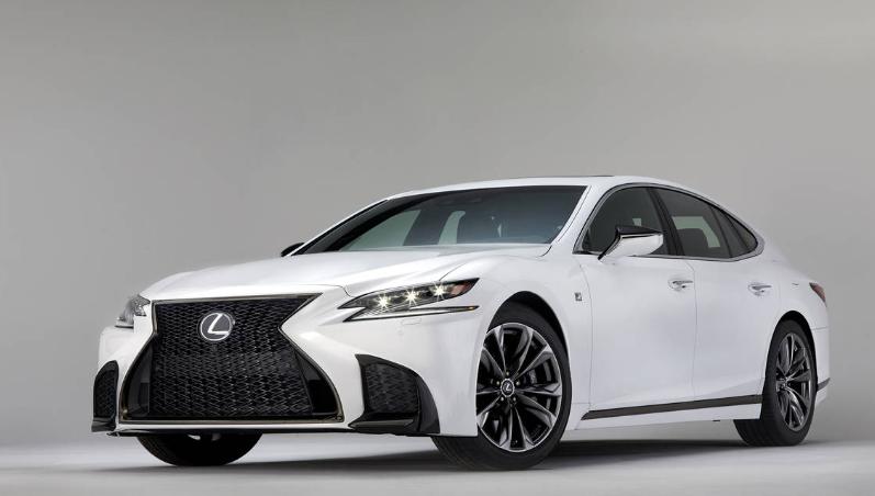 2019 Lexus LS F Sport 0-60 design