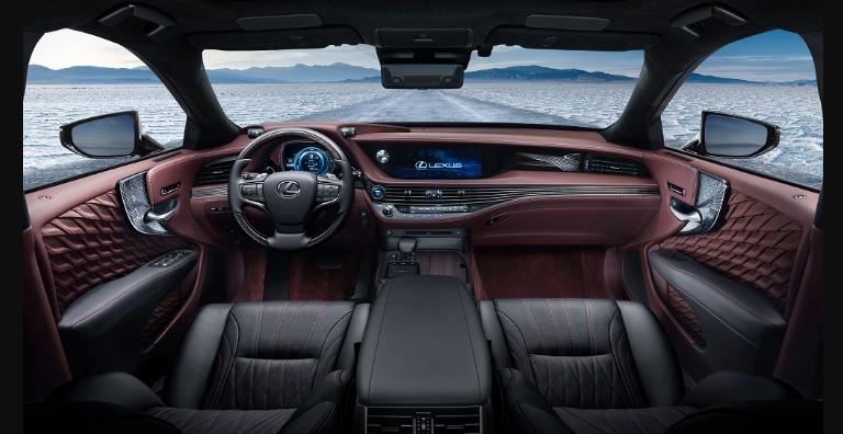 2019 Lexus LS F V8 news