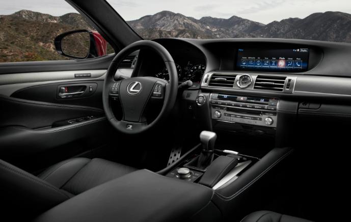 2019 Lexus LS F news