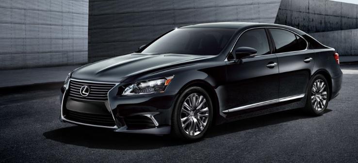 2019 Lexus LS F redesign