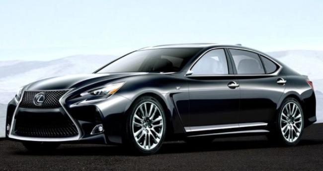 2019 Lexus LS Hybrid design