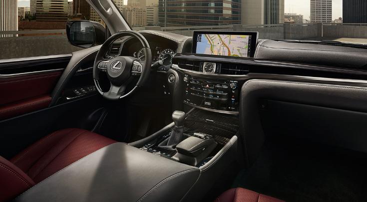 2019 Lexus LX 2-Row redesign