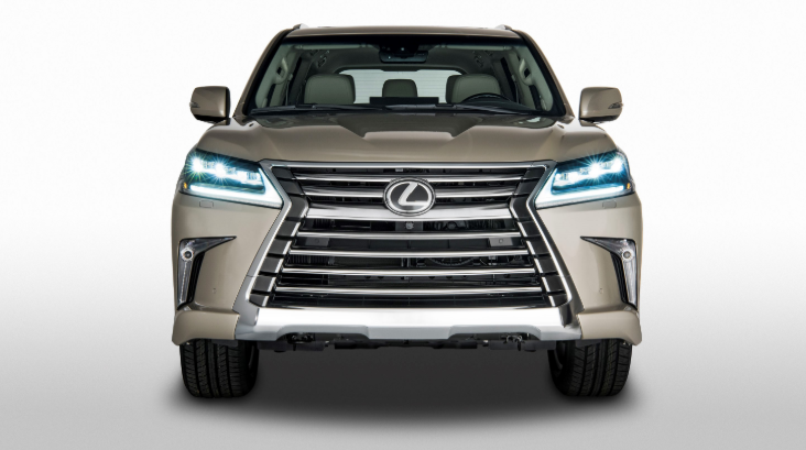 2019 Lexus LX 2-Row design