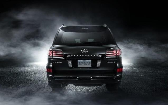 2019 Lexus LX 570 AWD redesign