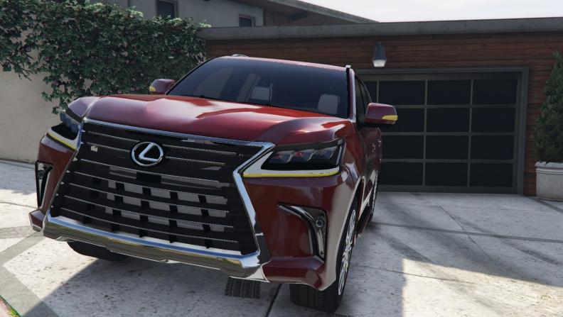2019 Lexus LX 570 MSRP design