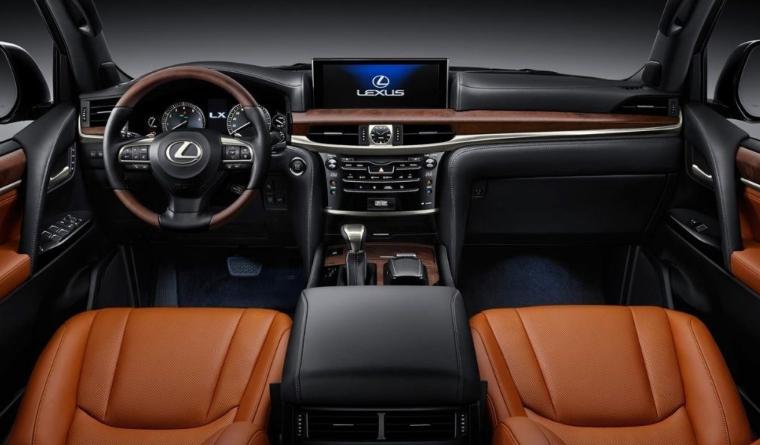 2019 Lexus LX 570 V8 news