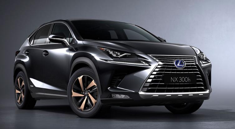 2019 Lexus NX 300h AWD Hybrid design