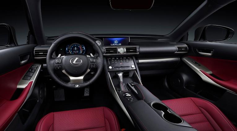 2019 Lexus RC 200T F-Sport design