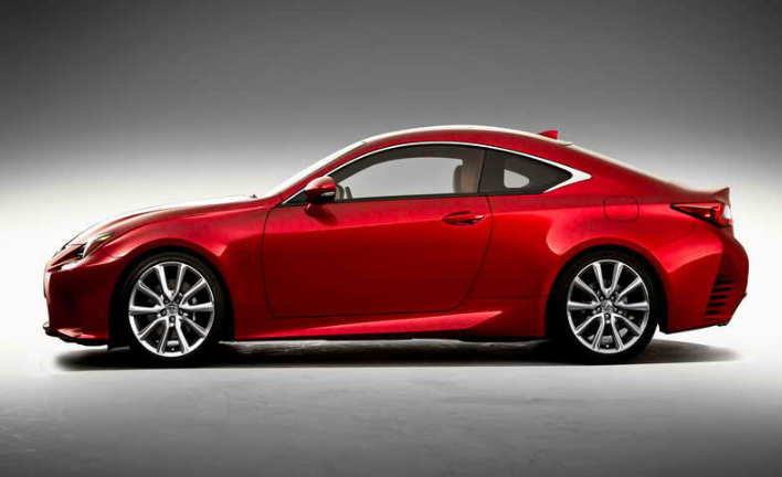 2019 Lexus RC Coupe redesign