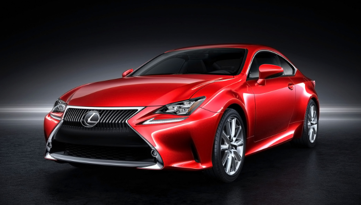 2019 Lexus RC Coupe design