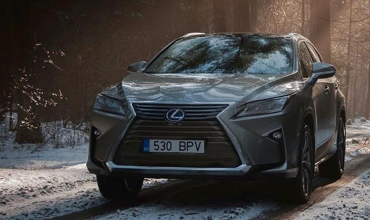 2019 Lexus RX 450H Hybrid redesign