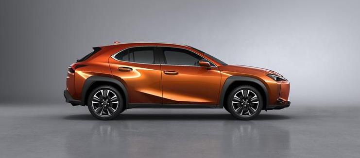 2019 Lexus UX Crossover design
