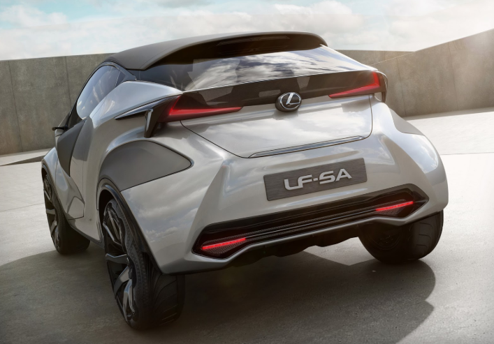 2020 Lexus LF-SA design