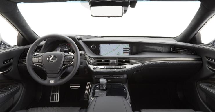 2019 Lexus LS 500 F-Sport new