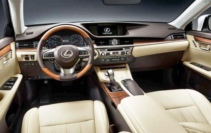 2019 Lexus ES 0-60 design