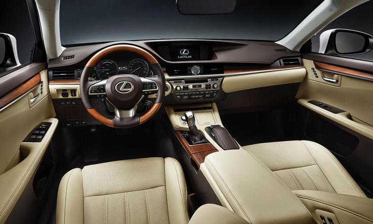 2019 Lexus ES Sedan design