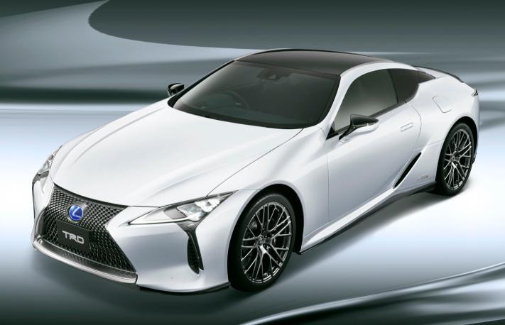 2019 Lexus LC TRD design