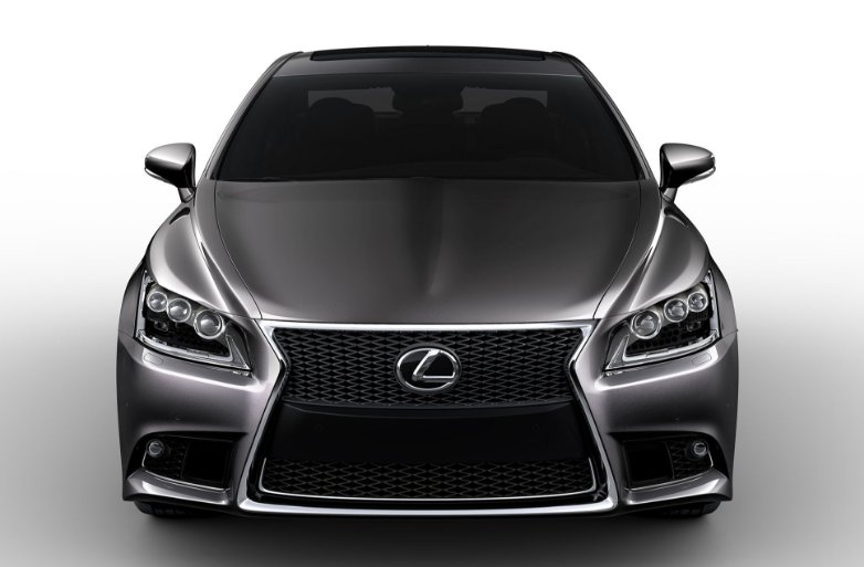2019 Lexus LS 460 F Sport redesign