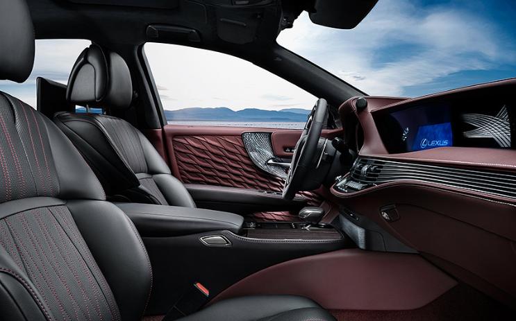 2019 Lexus LS 500h Hybrid design
