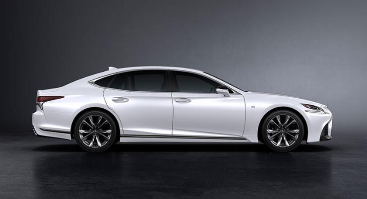 2019 Lexus LS MSRP design