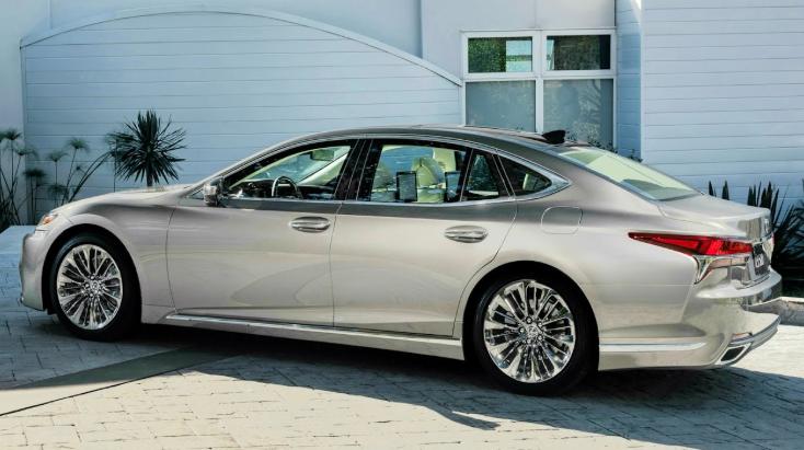 2019 Lexus LS Prototype design
