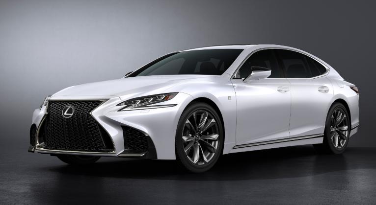 2019 Lexus LS V6 design