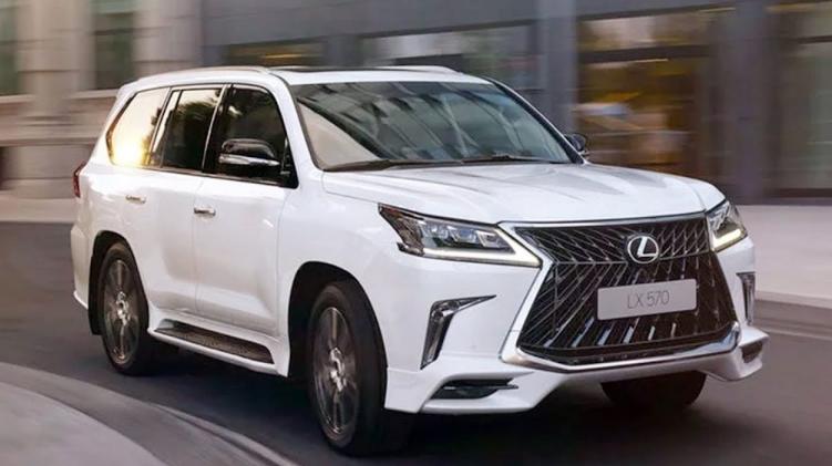 2019 Lexus LX 570 Third-Row news