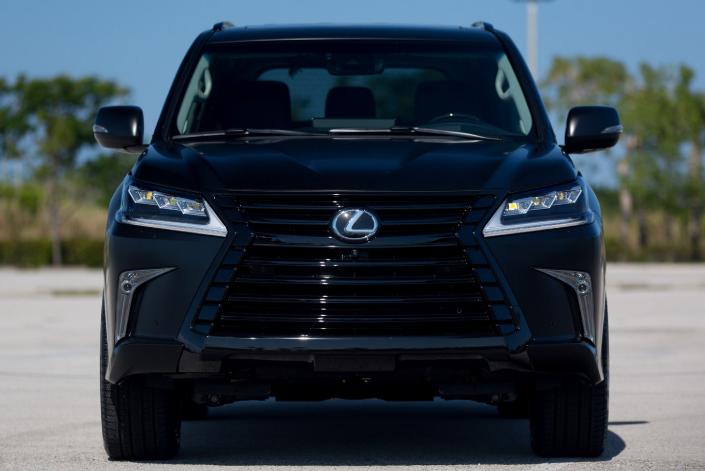2019 Lexus LX 570 Third-Row redesign