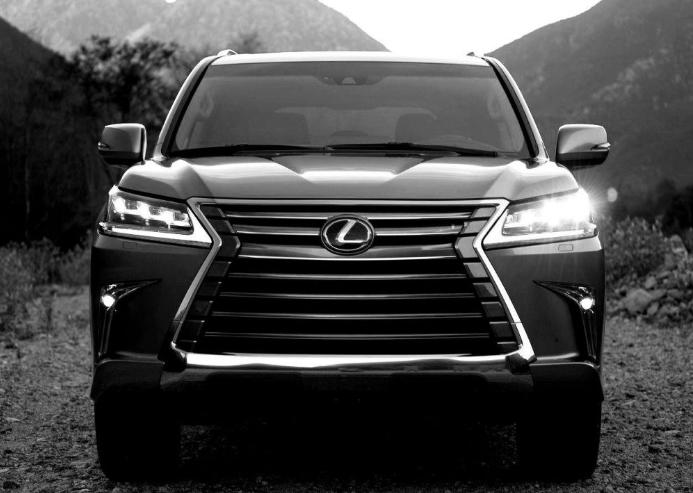 2019 Lexus LX SUV design