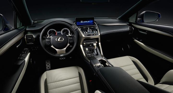 2019 Lexus NX Hybrid Facelift interior