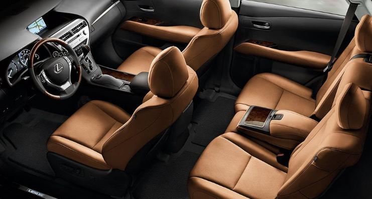 2019 Lexus RX 350 0-60 design