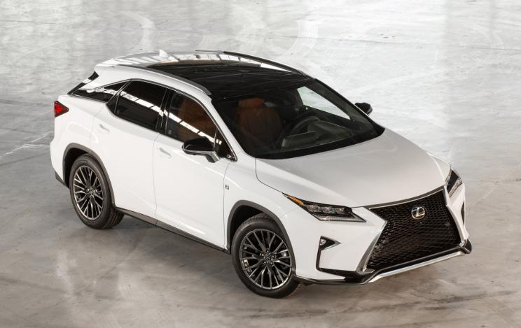 2019 Lexus RX 350 Luxury redesign