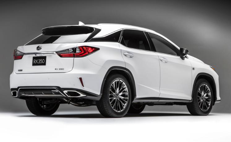 2019 Lexus RX 350 USA redesign