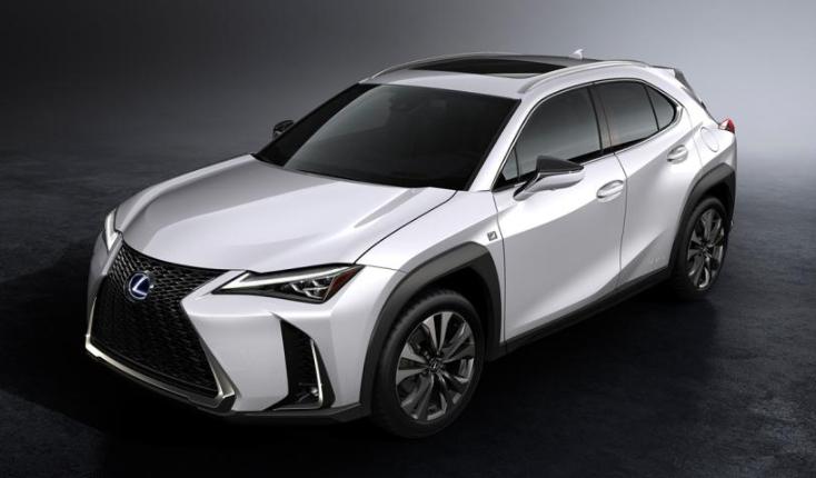 2019 Lexus UX 200t F-Sport design