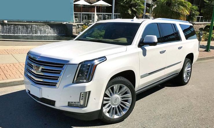 2019 Cadillac Escalade White