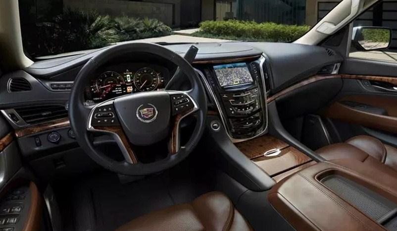 2020 Cadillac Escalade Premium Luxury Interior