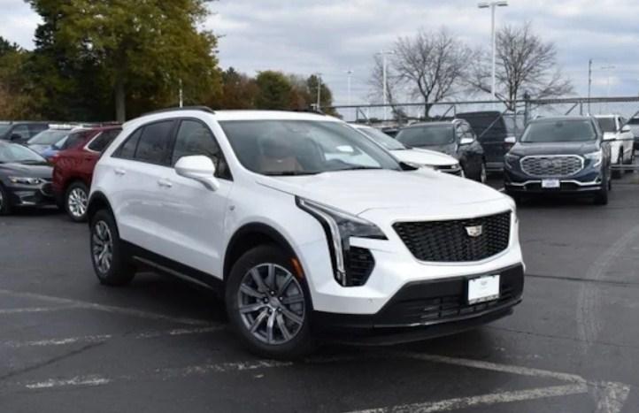 2020 Cadillac XT4 White
