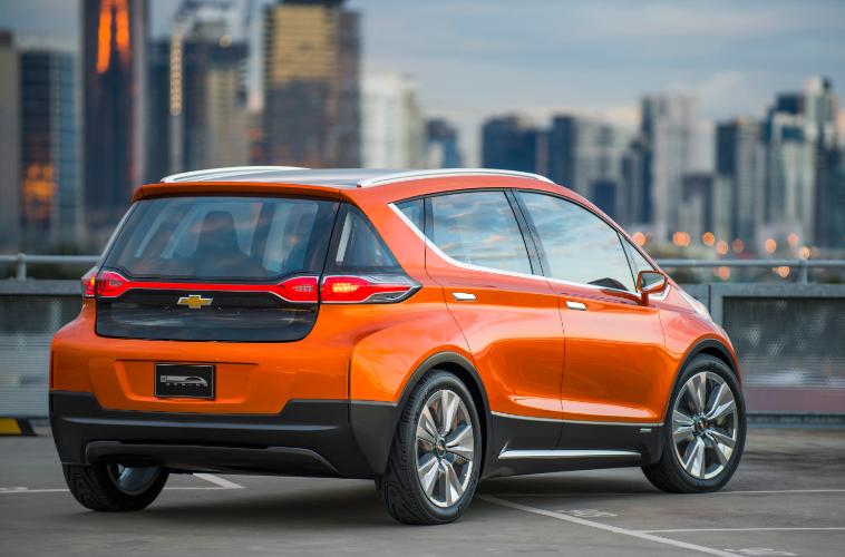 2020 Chevrolet Bolt EV design