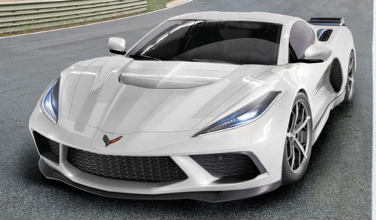 2020 Chevy Corvette C8 redesign