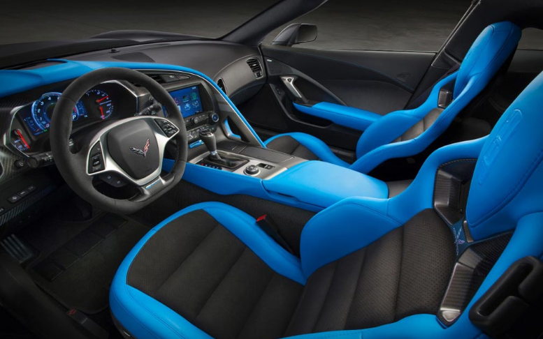 2019 Chevrolet Corvette Convertible interior