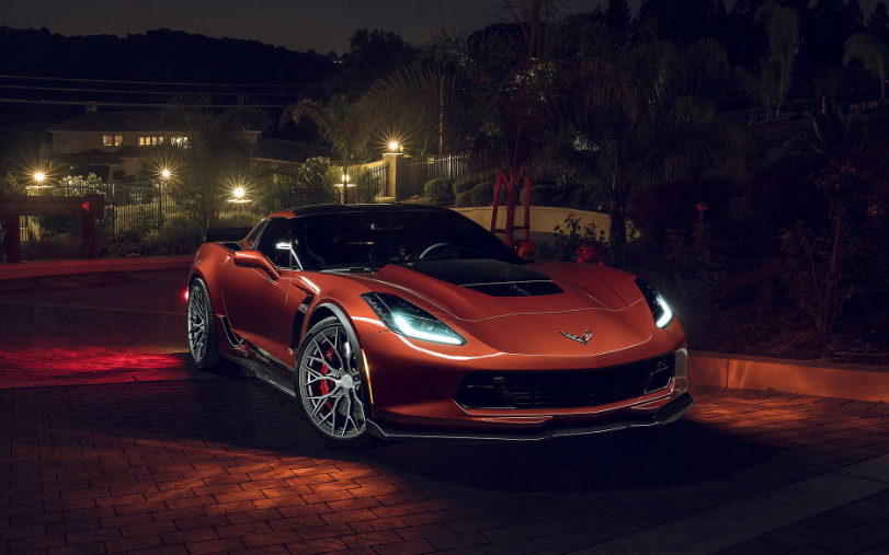 2019 Chevrolet Corvette Z06 design