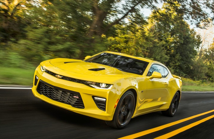 2019 Chevy Camaro 1SS redesign