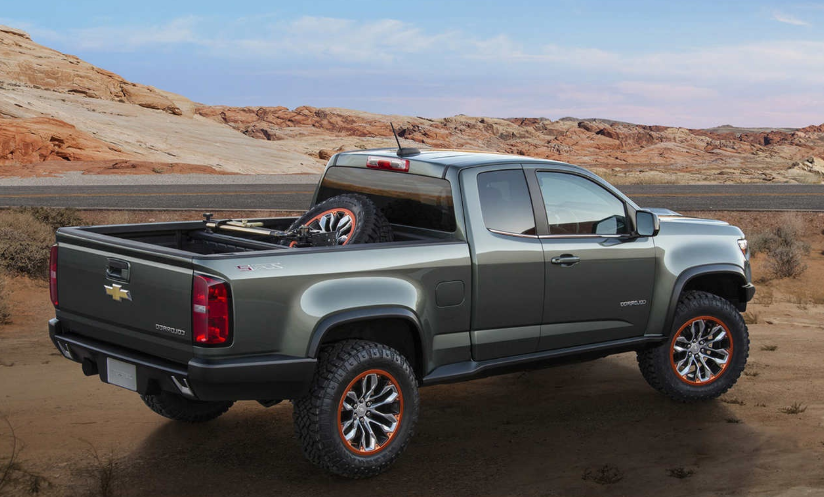 2020 Chevy Colorado Extended-Cab Towing Capacity