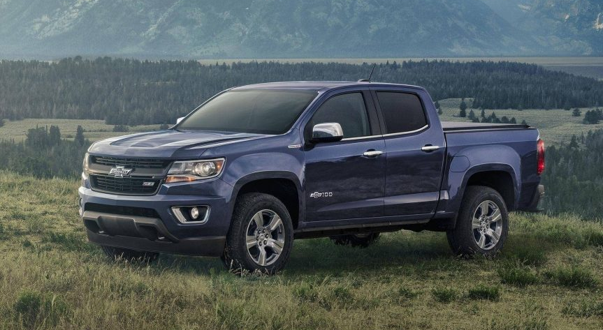 2019 Chevy Colorado V8 redesign